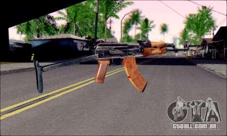 ACMs do ArmA 2 para GTA San Andreas segunda tela