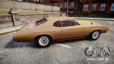 Classique Stallion 2Gen para GTA 4 esquerda vista