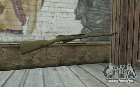 O Mosin-v3 para GTA San Andreas segunda tela
