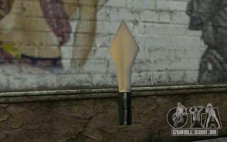 Knife from Cutscene para GTA San Andreas segunda tela