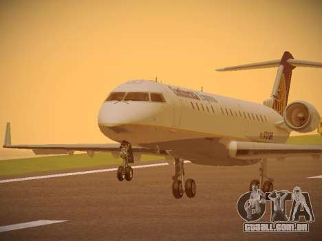 Bombardier CRJ-700 Continental Express para GTA San Andreas