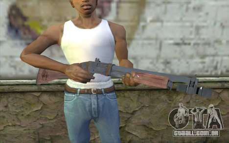 Shotgun from Primal Carnage v2 para GTA San Andreas terceira tela