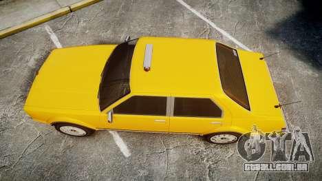 Albany Romans Taxi para GTA 4 vista direita