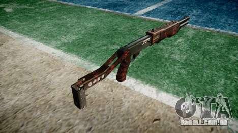 Ружье Franchi SPAS-12 Arte da Guerra para GTA 4 segundo screenshot