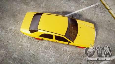 Mercedes-Benz W124 Brabus para GTA 4 vista direita
