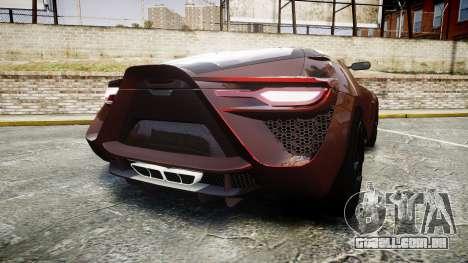 Bertone Mantide 2009 para GTA 4 traseira esquerda vista