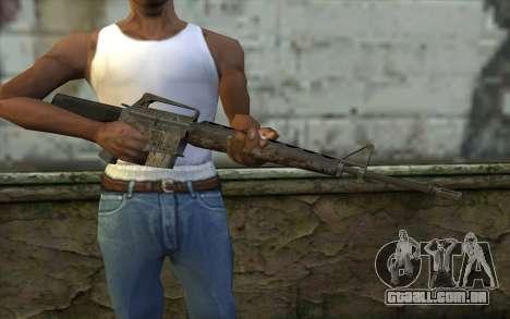 M16A1 from Battlefield: Vietnam para GTA San Andreas terceira tela