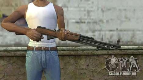 СКС de Insurgência para GTA San Andreas terceira tela