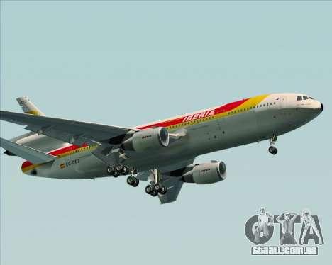 McDonnell Douglas DC-10-30 Iberia para as rodas de GTA San Andreas