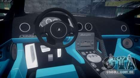 Lamborghini Murcielago 2005 para GTA 4 vista de volta