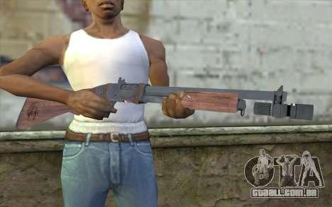 Shotgun from Primal Carnage v1 para GTA San Andreas terceira tela
