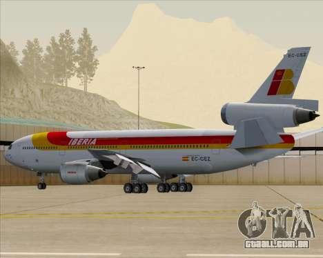 McDonnell Douglas DC-10-30 Iberia para o motor de GTA San Andreas