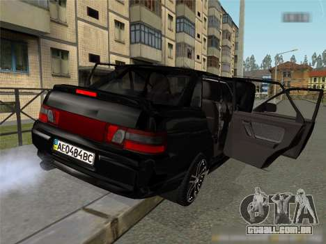 ESTES 2110 XN para GTA San Andreas esquerda vista
