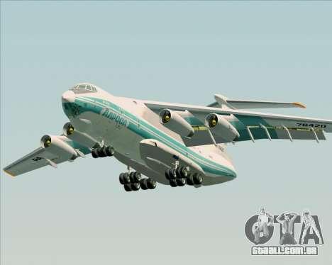 IL-76TD ALROSA para GTA San Andreas vista inferior