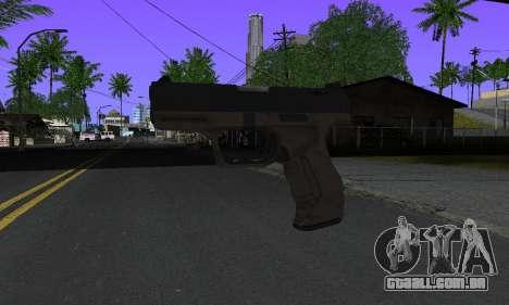 Walther P99 Bump Mapping v2 para GTA San Andreas
