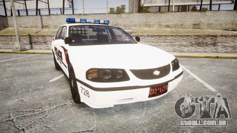 Chevrolet Impala 2003 Liberty City Police [ELS] para GTA 4