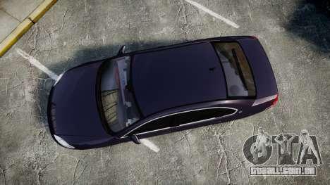 Chevrolet Impala 2010 Undercover [ELS] para GTA 4 vista direita