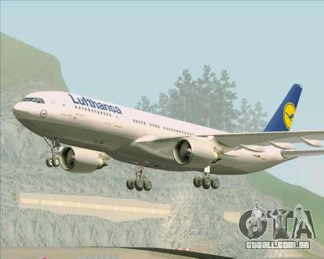 Airbus A330-200 Lufthansa para GTA San Andreas