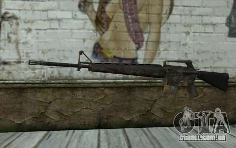 M16A1 from Battlefield: Vietnam para GTA San Andreas