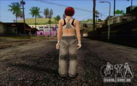 Mila 2Wave from Dead or Alive v11 para GTA San Andreas segunda tela