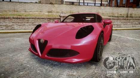 Alfa Romeo 4C para GTA 4