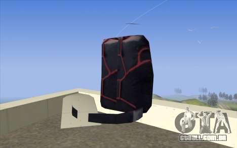 Parachute from Beta Version para GTA San Andreas segunda tela