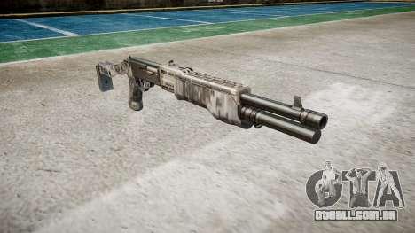 Ружье Franchi SPAS-12 Ghotex para GTA 4