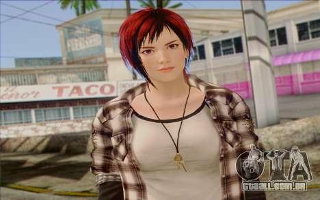 Mila 2Wave from Dead or Alive v10 para GTA San Andreas terceira tela