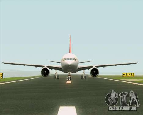 Boeing 767-300F Qantas Freight para GTA San Andreas interior