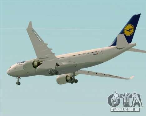 Airbus A330-200 Lufthansa para o motor de GTA San Andreas