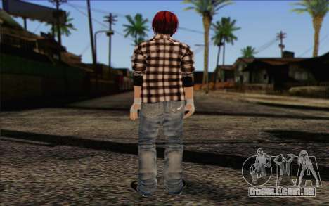 Mila 2Wave from Dead or Alive v10 para GTA San Andreas segunda tela