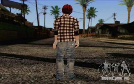 Mila 2Wave from Dead or Alive v10 para GTA San Andreas segunda tela