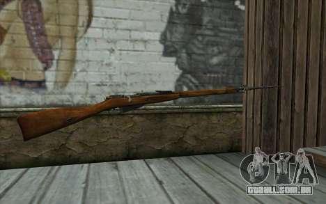 O Mosin-v13 para GTA San Andreas segunda tela