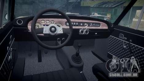 Lancia Fulvia HF (Camber) para GTA 4 vista de volta