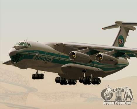IL-76TD ALROSA para GTA San Andreas vista interior