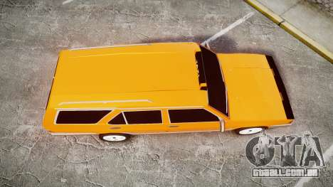 Tofas Kartal SLX Taxi para GTA 4 vista direita