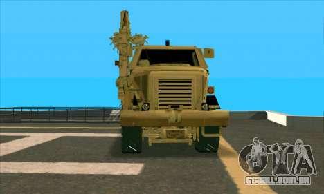 Bonecrusher Transformers 2 para GTA San Andreas vista direita
