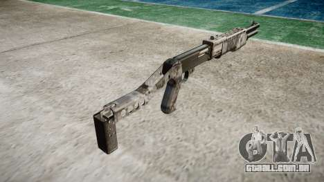 Ружье Franchi SPAS-12 Ghotex para GTA 4 segundo screenshot