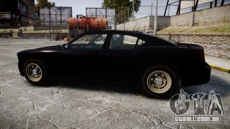 GTA V Bravado FIB Buffalo [ELS] para GTA 4 esquerda vista
