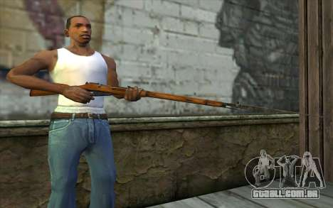 O Mosin-v13 para GTA San Andreas terceira tela