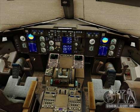 Boeing 757-230 VIM Airlines (VIM) para GTA San Andreas interior