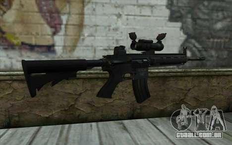 HK416 (Bump mapping) v2 para GTA San Andreas segunda tela