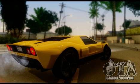 GTA 5 Bullet para GTA San Andreas esquerda vista