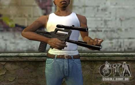 Гроза a partir de Meia - Vida Paranóia para GTA San Andreas terceira tela