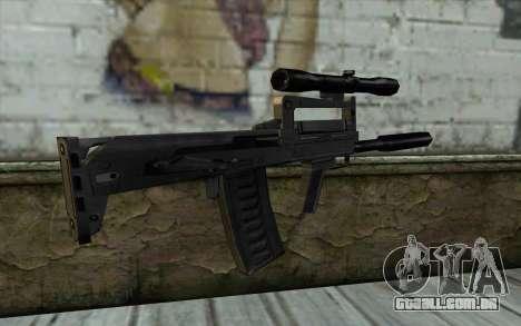 Гроза a partir de Meia - Vida Paranóia para GTA San Andreas segunda tela