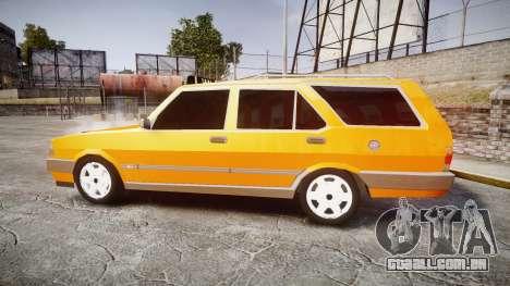 Tofas Kartal SLX Taxi para GTA 4 esquerda vista