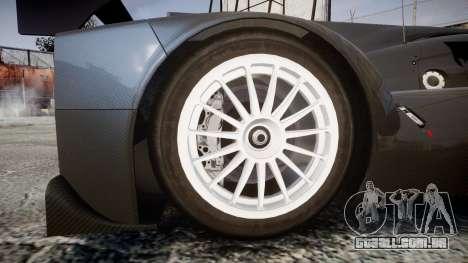 Lola B12-80 para GTA 4 vista de volta