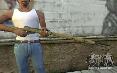 O Mosin-v3 para GTA San Andreas terceira tela