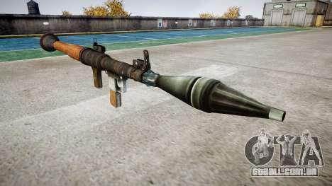 De mão de granadas antitanque (RPG) para GTA 4