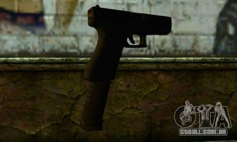 Glock 18 from Medal of Honor: Warfighter para GTA San Andreas segunda tela